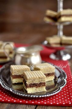 Polish Desserts, Polish Recipes, No Bake Desserts, Polish Food, Sweet Little Things, Sweets Cake, Russian Recipes, Homemade Cakes, Confectionery