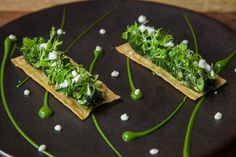 'Mixed Greens Pie' - Chortopita wild greens, feta cream, crispy fyllo