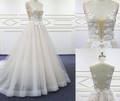 Lace Wedding, Wedding Dresses, Fashion, Rosa Clara, Lace Bodice, Wedding Dress Lace, Tulle, Neckline, High Fashion
