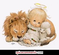 The Lion Shall Lay Down With the Lamb