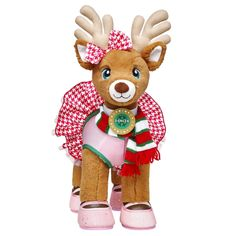 Shop, Explore and Play at Build-A-Bear® Custom Teddy Bear, Cuddle Buddy, Online Gift Shop, Cute Stuffed Animals, Christmas Time, Holiday, Santa And Reindeer, Build A Bear, Reno