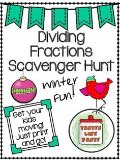Looking for a way to get your kids moving around the classroom?  My students love our scavenger hunts, and I love the easy prep!  Simply print out the pages, tape up around the room, and go!
