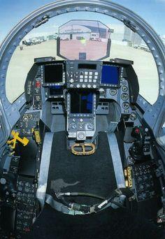 JASDF F-2 cockpit.