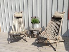 "EcoFurn - ""Lilli"" Nordic Design From Nature Wooden Garden Chairs, Garden Furniture, Outdoor Furniture Sets, Pine Chairs, Outdoor Chairs, Outdoor Decor, Heide Park, Terraced Backyard, Zen House"
