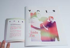 VOIR magazine on Behance