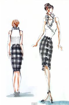 color and pattern combinations for your fashion sketches designs sketchs ideas