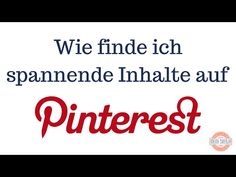 Wer sind die größten Pinterest Influencer? Wie finde ich spannende Inhalte und Trends - und Pinner, denen ich folgen möchte? Wie folge ich auf Pinterest Themen, die mich interessieren?