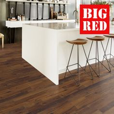 Kahrs Supreme Da Capo Collection Oak Domo: Best prices in the UK from The Big Red Carpet Company Kahrs Flooring, Hard Floor, Supreme, Bar Stools, Hardwood, Red Carpet, Kitchen, Big, Granite