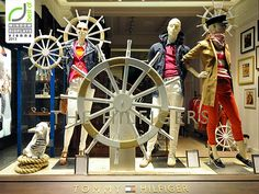 Tommy Hilfiger windows 2013, Vienna visual merchandising