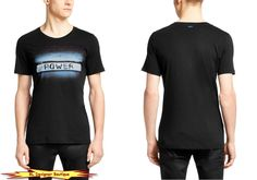 HUGO by HUGO BOSS 'Dight' Contrast Print Crew-neck Graphic T-Shirts NEW NWT #HugoBoss #GraphicTee