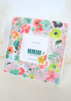 Spring Mix  Picture Frame  Photo Frame by Mmim on Etsy, $17.00