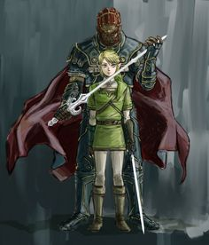 Ganondorf and Link. By Edit5. The Legend of Zelda: Twilight Princess