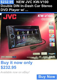 Vehicle Electronics And GPS: New Jvc Kw-V100 Double Din In-Dash Car Stereo Dvd Player W/ 6.1 Lcd Touchscreen BUY IT NOW ONLY: $232.95