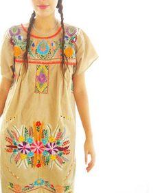 Vestido mexicano. Mexican dress.