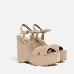 Image 5 of WEDGES WITH ANKLE STRAP from Zara