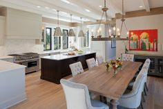 kitchen table sets ikea hardwood floor chairs flowers chandelier stove island pendant lights cabinets transitional room of Wonderfully Awesome Alternatives for Kitchen Table Sets IKEA