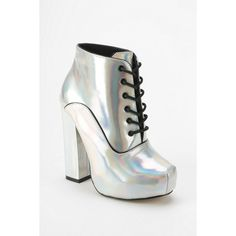 Shellys London Holograph Lace-Up Boot