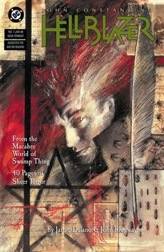 Sorry, still very excited about Constantine television series. Since the show started, I've been inspired to go back to the source material and started re-reading Hellblazer, starting with #1 and I'm currently on the Warren Ellis run.