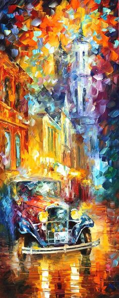 Vintage Soul 2 — PALETTE KNIFE Oil Painting On Canvas By Leonid Afremov
