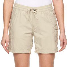 Women's Columbia Amberley Stream Cargo Shorts, Size: