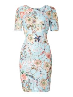 We love this Jolie Moi Sequined Blossom Print Dress, perfect for sunny weather!