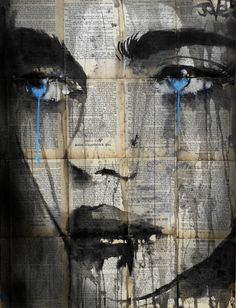 plume SOLD, Loui Jover -I really want a print