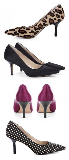 I own many pumps with this heel length. Their perfect for work and still look classy and elegant