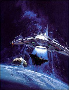 Retro-Future, Space Fiction By Vincent Di Fate