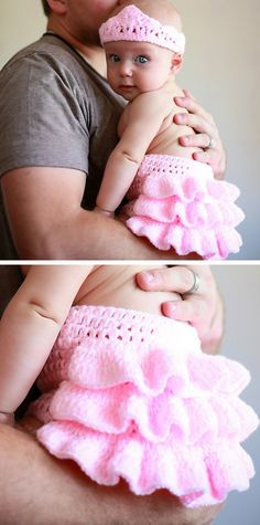 Pretty in Pink Baby Ruffle Outfit