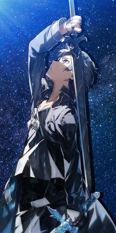 Sao Anime, Chica Anime Manga, Otaku Anime, Anime Chibi, Sword Art Online Wallpaper, Sword Art Online Kirito, Hd Anime Wallpapers, Amazing Spiderman, Naruto