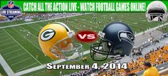 Green Bay Packers vs Seattle Seahawks. Our boys are doing amazing! How about that all my Packer fan friends!?!