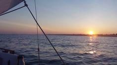 Kettle Point Ontario Sailboat, Newport, Kettle, Ontario, Celestial, Sunset, Beach, Water, Outdoor