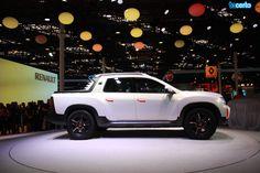 Renault Oroch, picape brasileira derivada do modelo Duster, apresentada no Salão do Automóvel 2014. http://tacerto.d.pr/1ktpQ