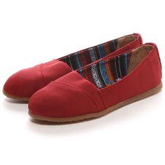 Minnetonka ミネトンカ MINNE TONKA EVA(RED) -靴とファッションの通販サイト ロコンド
