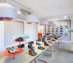 Tile Volumes (Camper store in London by Tomas Alonso)