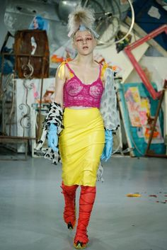 Meadham Kirchhoff Spring 2015 Ready-to-Wear - Collection - Gallery - - Style.com