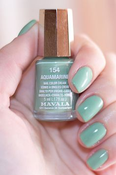 Aquamarine {I really want this color!}