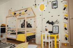 Batman room, montessori bed, children bed TWIN, (King) SINGLE, frame bed, wood bed kids teepee baby bed house nursery crib children furniture toddler bed