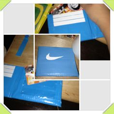 Duck tape wallet $5