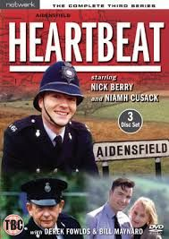 Heartbeat is a British police drama series set in 1960s North Riding of Yorkshire and broadcast on ITV in 18 series between 1992 and 2010. It was made by ITV Studios (formerly Yorkshire Television[1]) at the Leeds Studios and on location. Heartbeat first aired on Friday 10 April 1992 (it was later moved to Sunday evenings). The 372nd and final episode aired on Sunday 12 September 2010.