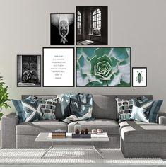 Gallery Wall, Scandinavian Wall Art Set, Art Print Set, Set of 6 Prints, Living Room Decor, Wall Decor Set, Scandi Decor, Digital Download