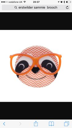On order from carnation collectibles. Due mid March! The bigger the glasses, the cleverer the sloth 😂