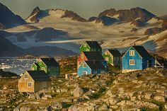 Photograph Greenland Houses by Nick Russill on 500px