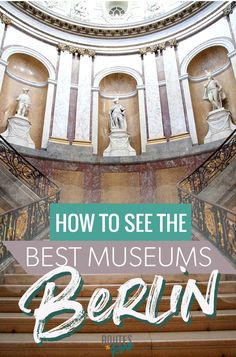 The Best Museums in Berlin - from the UNESCO World Heritage Museum Island in Berlin to smaller and lesser known museums, this guide to the best museums will help you plan your next trip to Berlin. Backpacking Europe, Europe Travel Tips, European Travel, Travel Destinations, Berlin Travel, Germany Travel, Museum Island, Berlin City, Berlin Berlin
