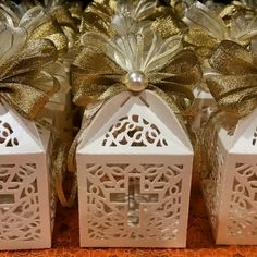 Best Seller Party Favors for Forever Occasions. Party favor boxes. Fill with candies, cookies or small gift. 12 pcs per order. Check out this item in my Etsy shop https://www.etsy.com/listing/279961580/religious-party-favorsbaptism-party