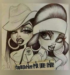 Classic Chola Payasa Chicana Drawing | Cholas and Cholos ...