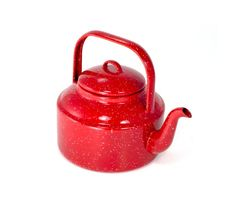 GSI Outdoors 2021 Red Tea Kettle - - Inspired by traditional Graniteware, our Enamelware blends old-fashioned charm and functionality into one sturdy package. Built from heavy-gau Kitchenware, Tableware, Camping Coffee, Camping Essentials, Camping Ideas, Camping Stuff, Camping Life, Glamping, Cookware
