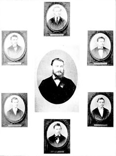 The Grote Street School staff (head master and assistants) in 1874 School Date, School Staff, School Teacher, Model School, City Model, Historical Pictures, South Australia, The Past, Portraits