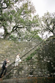 The inspiration for our wedding was the city of Savannah itself. The southern charm, the history, the architecture.