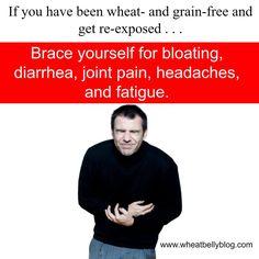 Wheat Baby pain